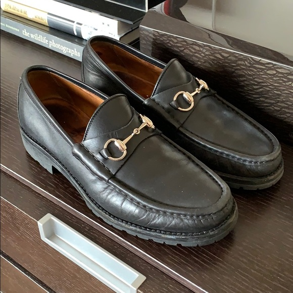Gucci Other - Gucci Lug Sole Moccasin size 9 European